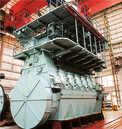 STX-MAN Low Speed Marine Main Engine 3